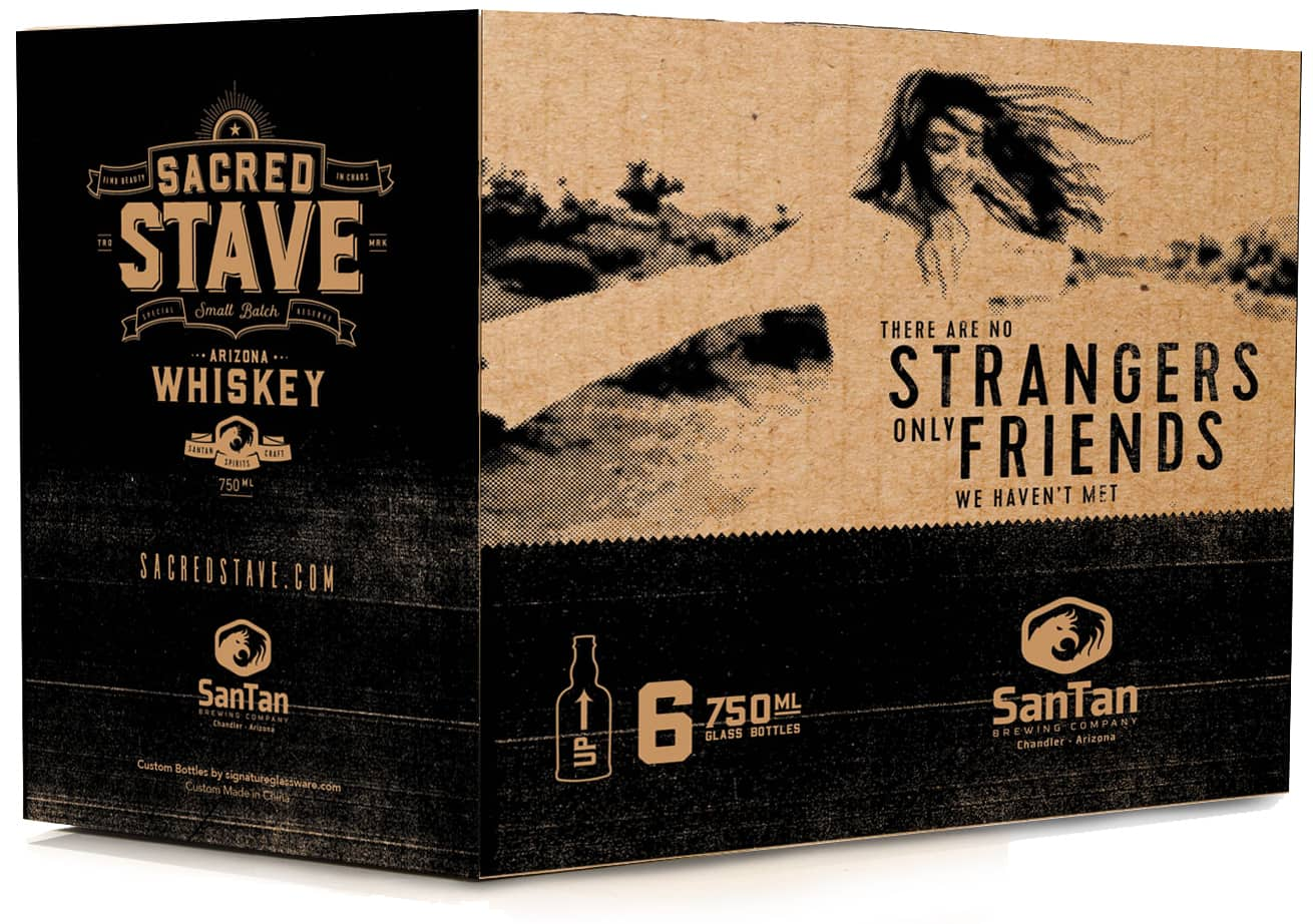 Packaging | Sacred Stave by SanTan Brewing Company | Case Studies | Commit Agency
