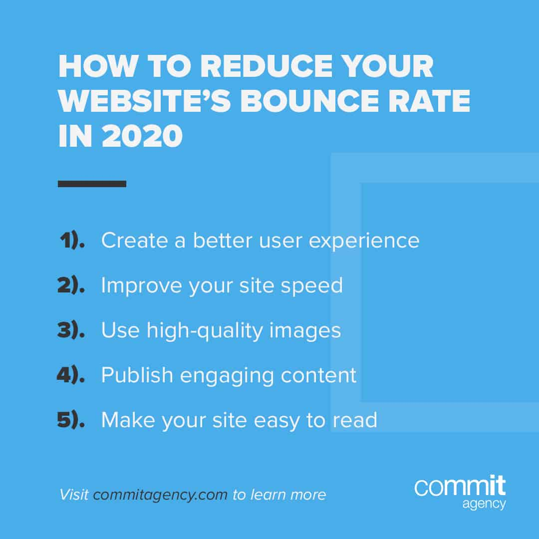 reduce websites bounce rate