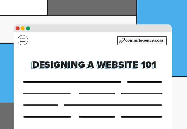 designing a website