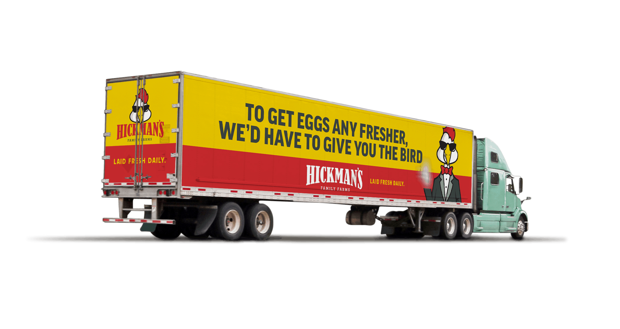 Outdoor Marketing | Hickman's Eggs | Fresh As Flock | Case Studies | Commit Agency