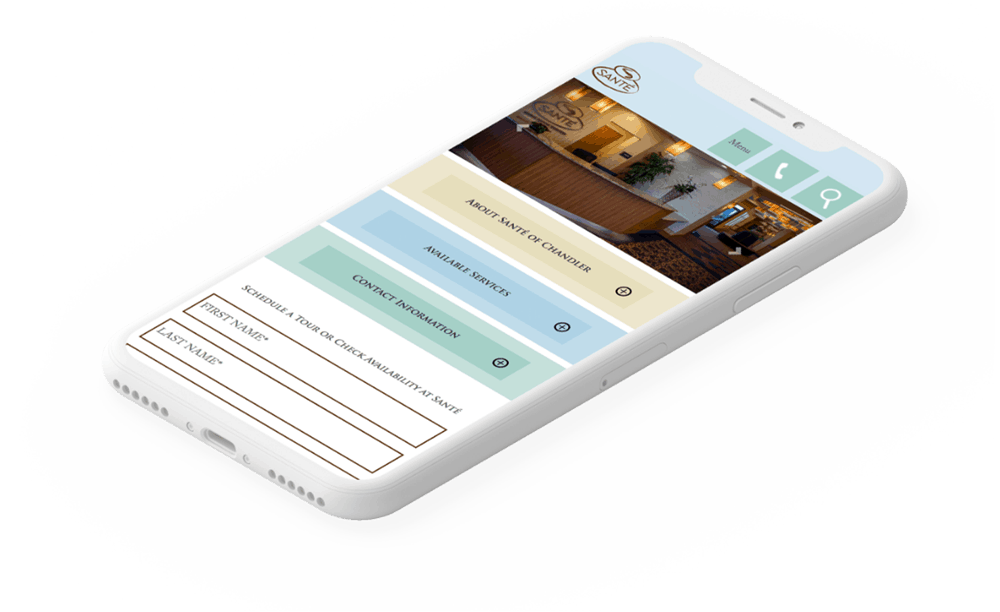 Responsive Website Development | Santé Center | Case Study | Commit Agency