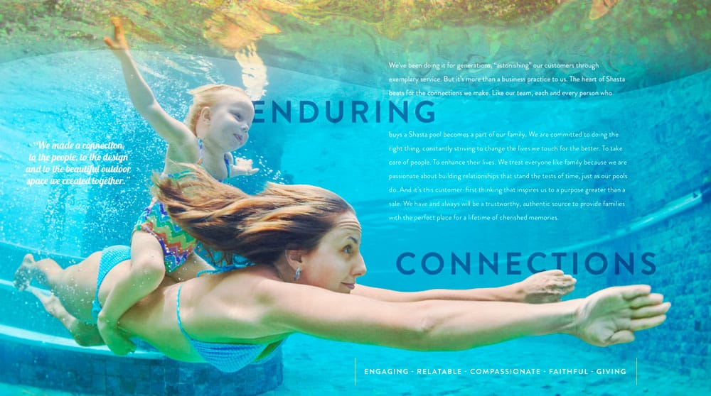 Branding | Shasta Pools | Case Study | Commit Agency
