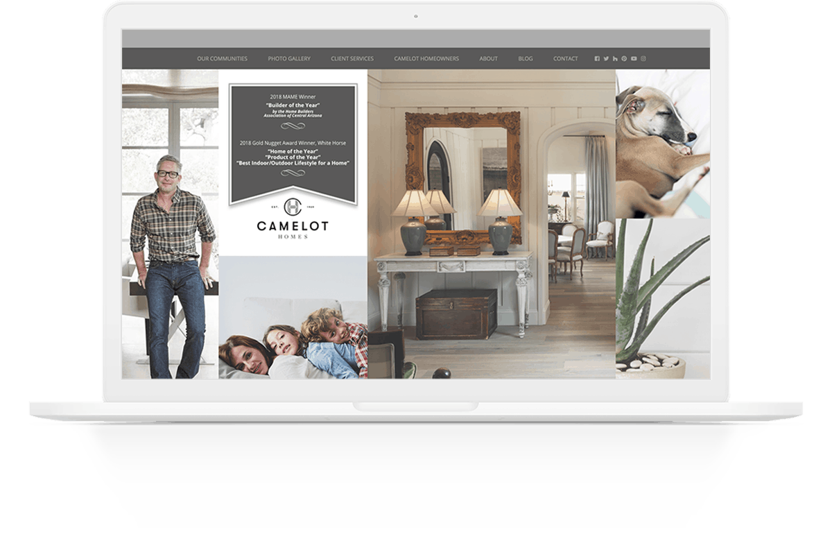 Website Development | Camelot Homes | Case Study | Commit Agency