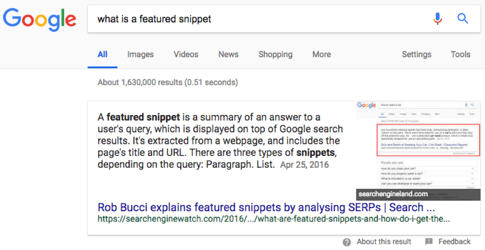 Why are Featured Snippets Important?