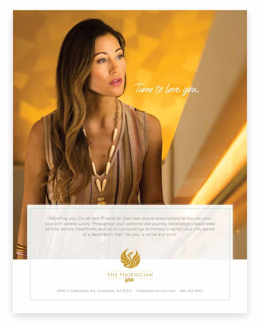 Print Design | The Phoenician Spa | Case Study | Commit Agency