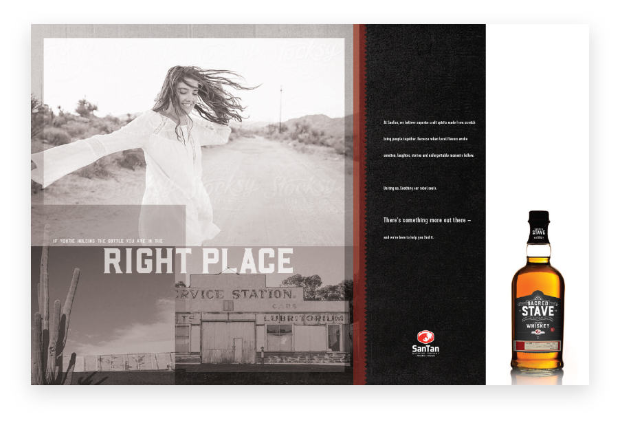 Print | Sacred Stave by SanTan Brewing Company | Case Studies | Commit Agency