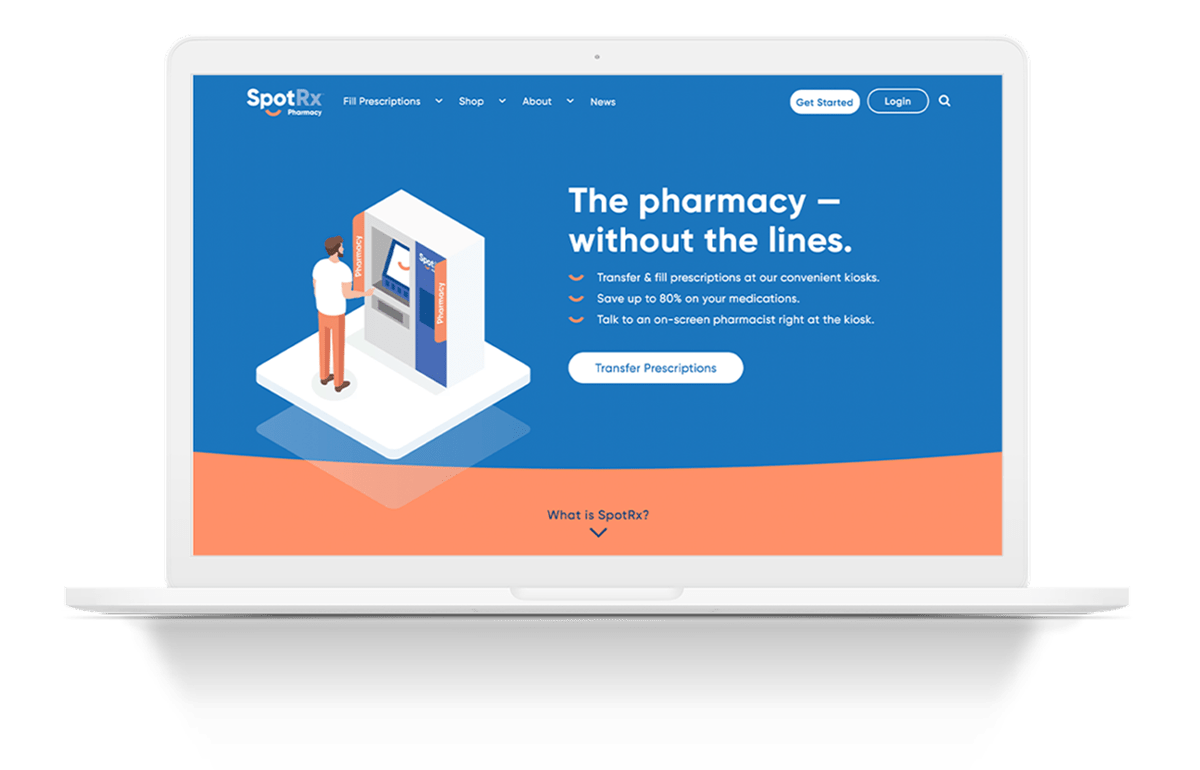 Surpassed 56,000 visitors at website launch | SportRx | A New Way to Pharmacy | Client Case Studies | Commit Agency | Arizona Marketing